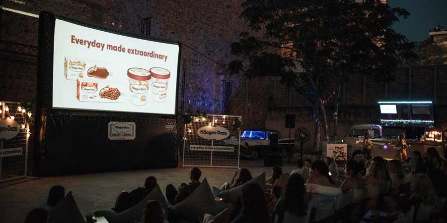 Haagen Dazs Secret Cinema